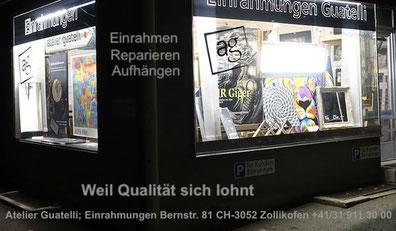 Bilder rahmen nach Mass - Atelier Guatelli - Weil Qualität sich lohnt