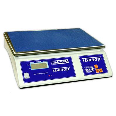 Весы для простого взвешивания МИДЛ МК серия Базар