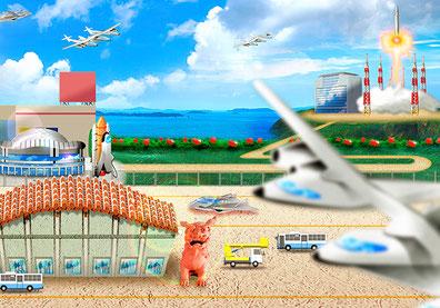 Okinawa Spaceport|Transport revolution