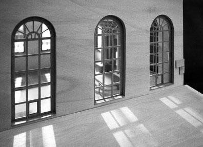 Detailfoto von dem Modell der Synagoge aus Plau am See - Foto Thomas Helms Schwerin