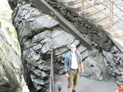 An den Trümmelbach-Wasserfällen
