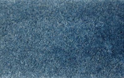 Alfombra de pelo corto color azul marino