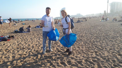 Beach Cleanup Barceloneta