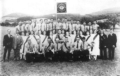 Fahnenweihe 1927