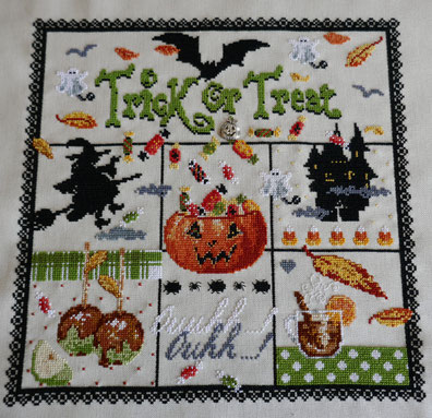 broderie halloween: univers emylila