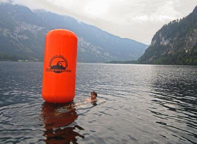 Hallstättersee Schwimm Marathon Bojen