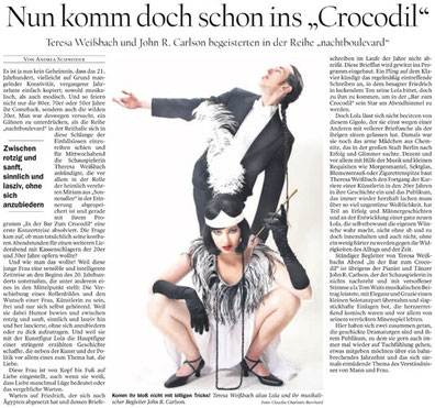 »In der Bar zum CROCODIL« - Presseartikel