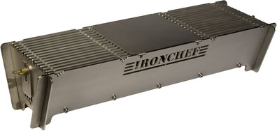 Ironchef Holzkohle Tischgrill BBQ L