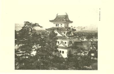 戦災で焼失する前の国宝大垣城