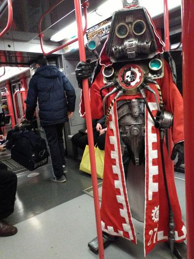 Skitarii Ranger Warhammer 40 K  Cosplay - Cartoomics 2017 - Rho Fiera, Milano Italy