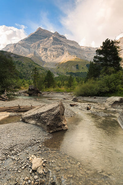 Bergwelt im Wallis