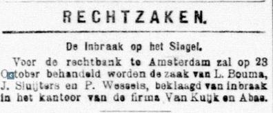 De Telegraaf 06-10-1900: