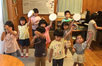 画像:合同練習、幼児~小3
