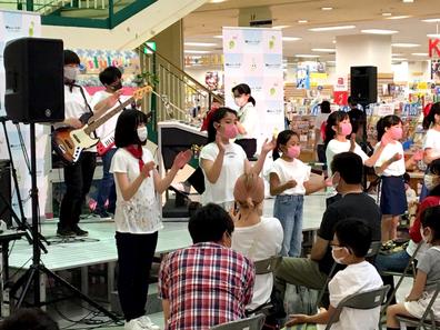 画像:ミニコンサート2021本番