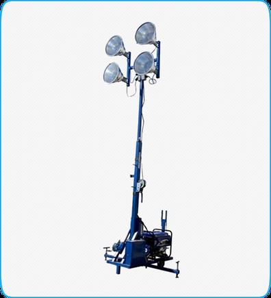 Torre de iluminación a Gasolina Mpower