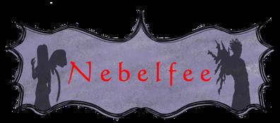 Logo zum Kinderbuch Nebelfee - das verwünschte Einhorn von Dennis Zemella, zwei Feengeschwister