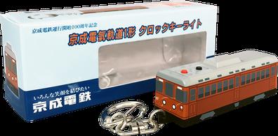 クロックキーライト 電車型/バス型 パッケージ