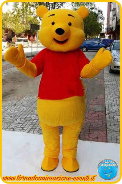 Mascotte winnie the pooh Roma