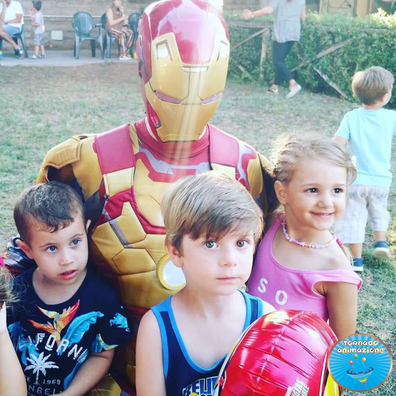 festa a tema iron man per bambini roma
