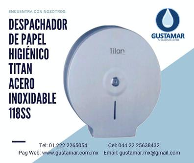 DESPACHADORES DE PAPEL HIGIÉNICO DE ACERO INOXIDABLE TITAN