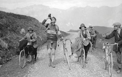 AUDAX Suisse Motto: Der Weg ist das Ziel