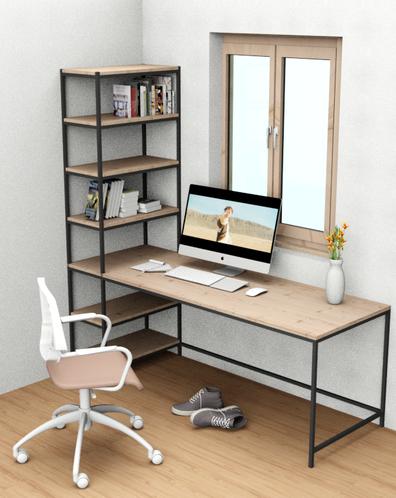 Home Office Arbeitsplatz, individuell in Größe und Form, Einrichtung Brenninger