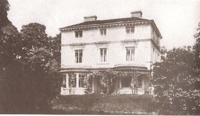 Sheldon House/ Sheldonfield House, the Rectory from 1860-1910 - Image from the Birmingham History Forum uploaded by Ann B and presumed out-of-copyright.