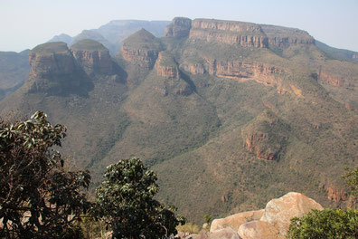 les 3 rondavel - Blyde River Canyon