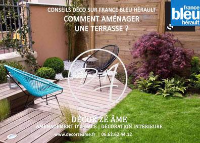 comment aménager une terrasse France bleu hérault