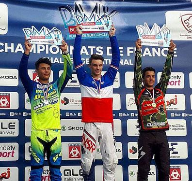 Titouan Blanchod   Champion de France Chrono BMX (Bordeaux - 2017)
