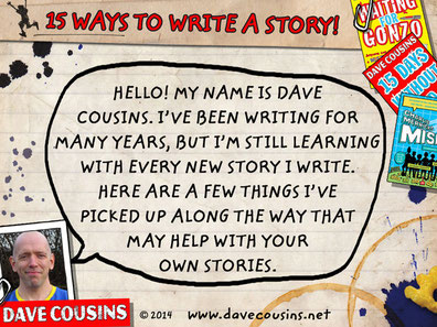 Dave Cousins 15 Ways to Write a Story Writing Tips Download
