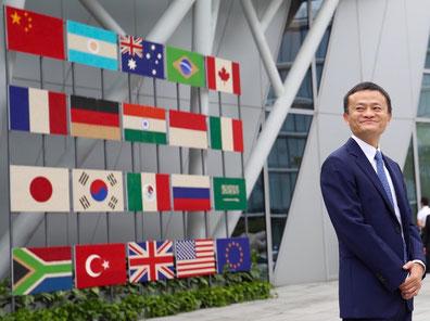 Alibaba's founder and executive chairman, Jack Ma