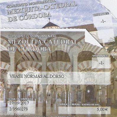 Tickets für die Mezquita-Catedral in Cordoba