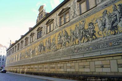 Dresden: der Fürstenzug