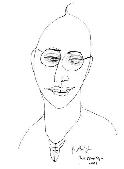Portrait Paul Wunderlich