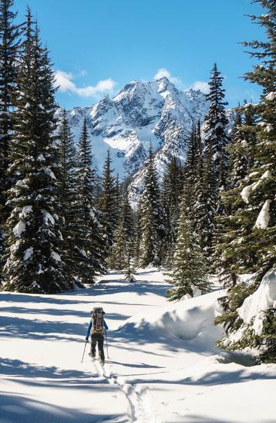 entrainement croisé ski de randonnée