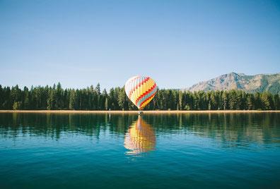 Image gratuite sur Pixabay représentant une montgolfière