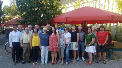 Das Betreuer- und Organisationsteam des CSU Ferienprogramm 2018