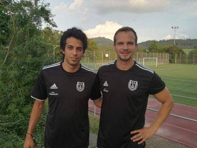+++ Ab der kommenden Saison gemeinsam sportlich verantwortlich für die 1. Mannschaft des TSV: Metin Kartal und Sven Lechleitner +++