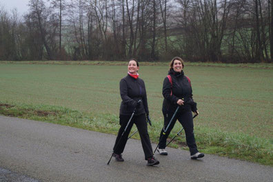 De gauche à droite : Isabelle Breton, présidente-secrétaire, et Rachel Mérat, trésorière, pilotent l'association Odon'Attitude.
