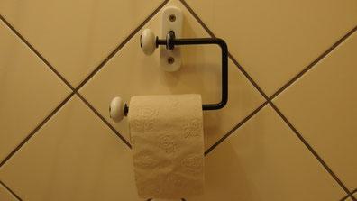 Toilettenpapierhalter in Kuldiga