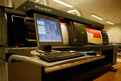 HP XL JET 1500 für Stoffdrucke bis 5m breite