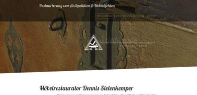 Restaurator im Tischlerhandwerk Dennis Sielenkemper