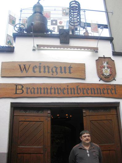 Im historischen Stiftsherren Weinkellerei mit Brennerei probierten wir einige edle Tröpfchen
