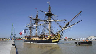 L'hermione  © Ouest France