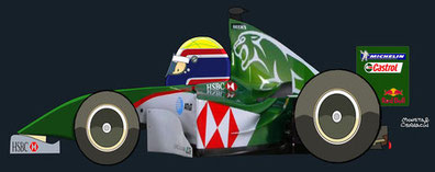 Helmet of MarkWebber by Muneta & Cerracín