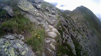 Gipfel-Grad Zams Wenns Alpen Österreich E5