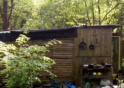Une cabane - La Zad Notre-Dame-des-Landes - Mai 2018