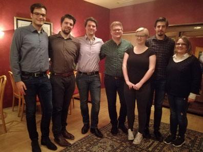Neuer Vorstand Musikverein Jugendlust Scharmede