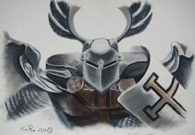 Knight (2) 40x60 cm